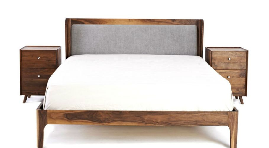 dark aged oak-modern tuscan bed