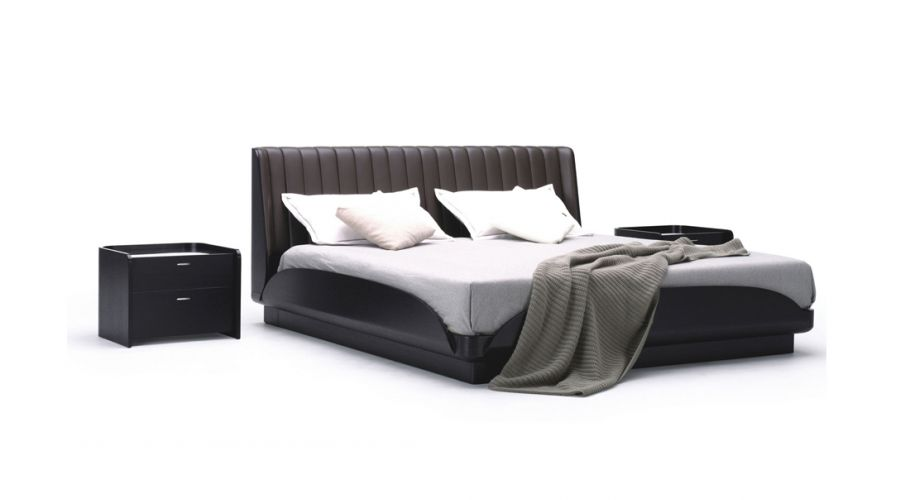 contemporary form-tufted pu bed1