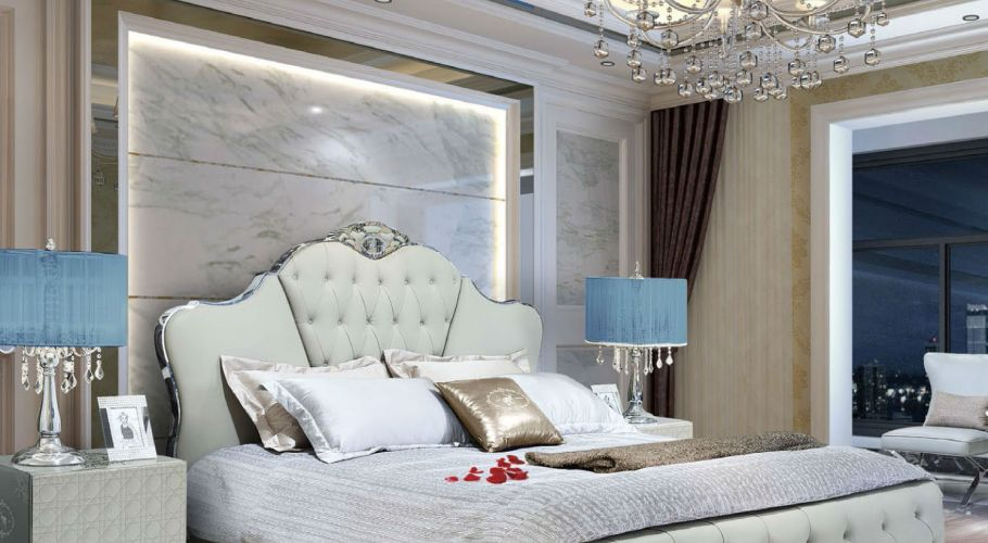 classic contemporary bed